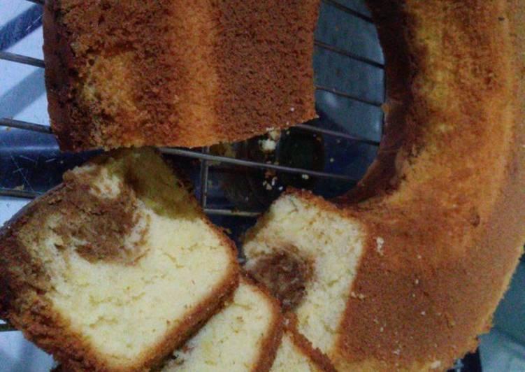 Bolu jadul (all in) - baking pan
