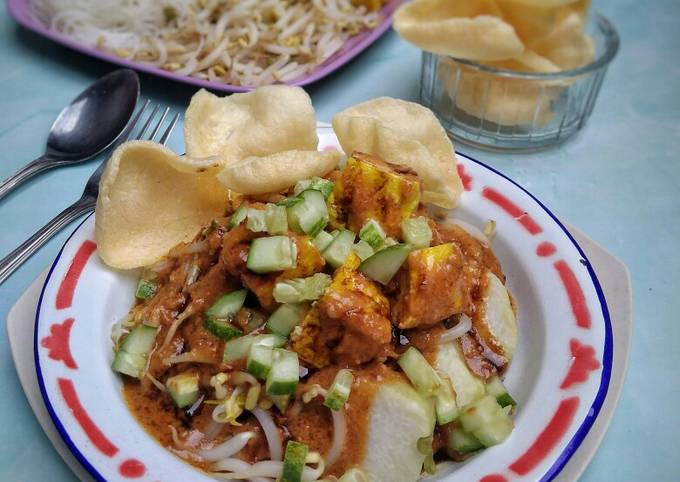 Resep Ketoprak Cirebon (bumbu siram) oleh Hadleny Kitchen - Cookpad