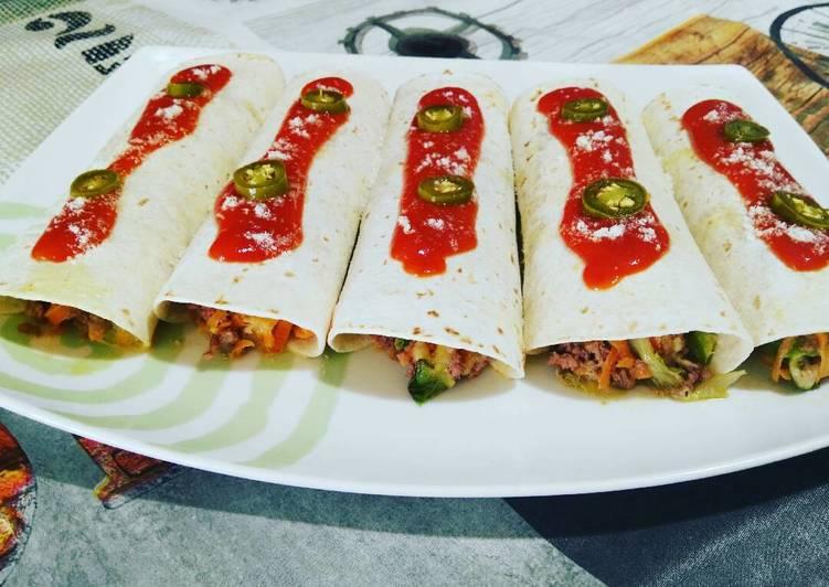 Easiest Way to Prepare Delicious Burritos de ternera
