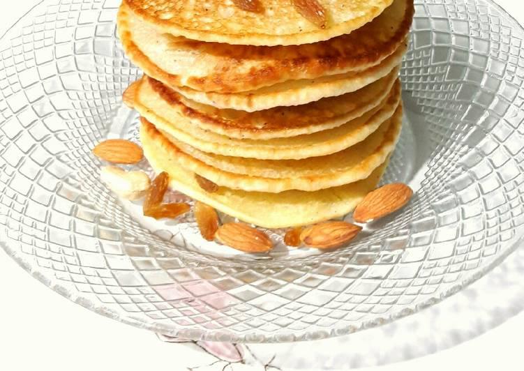 Dry fruit tutti fruity pancakes