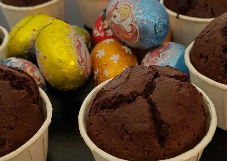 Recette: Muffins au chocolat