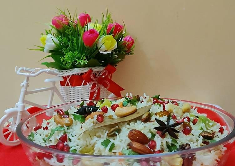 10 Minute Recipe of Award Winning Navratan pulao 🥰