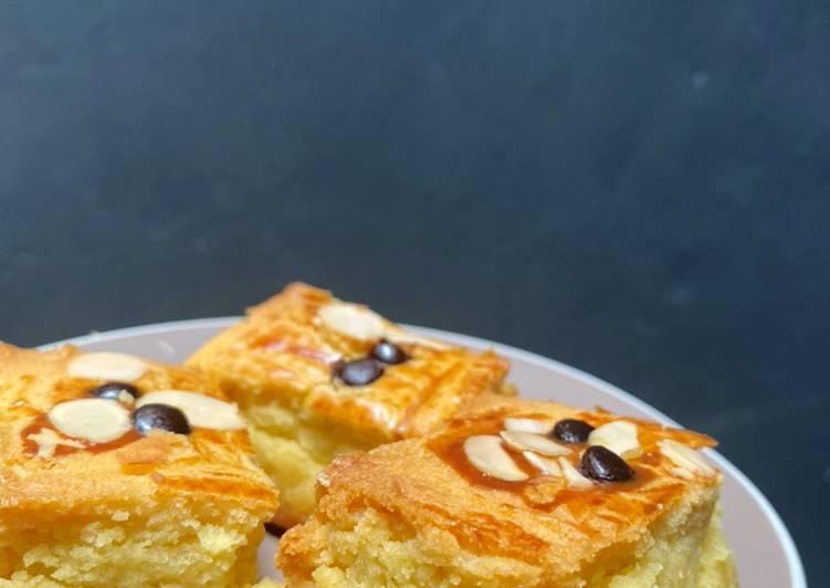 Boterkoek/Dutch Butter Cake - cookandrecipe.com
