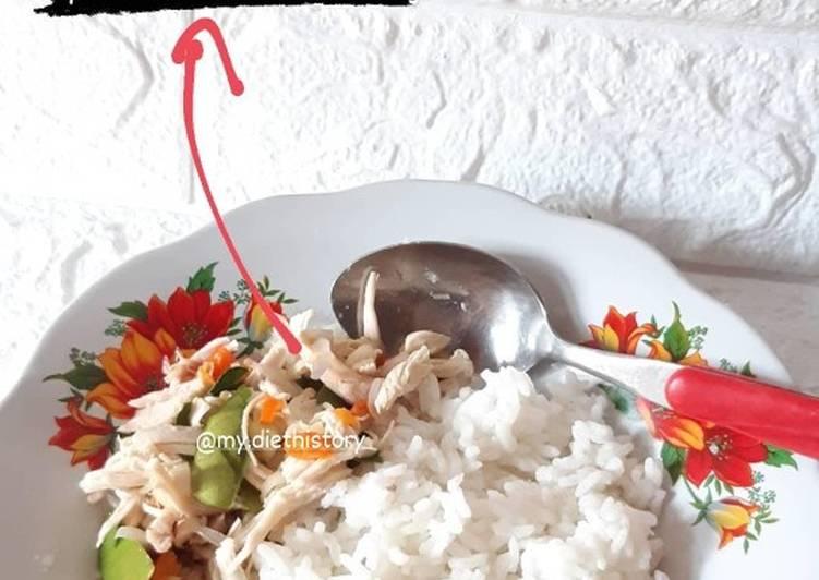 Cara membuat Ayam sambal matah (diet)
