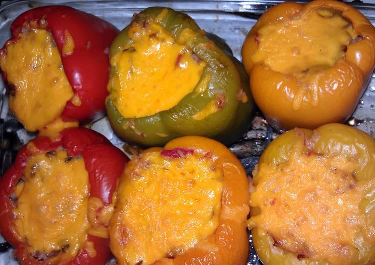 K's Stuffed bell peppers
