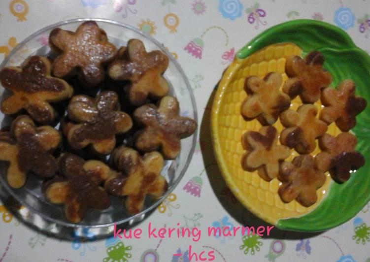 Kue Kering Marmer (no telur)