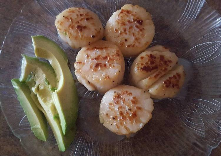 Recipe of Award-winning Easy Scallop Lunch