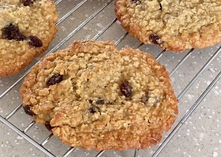 Recipe of Ultimate Chewy Fruity Flapjack Cookies