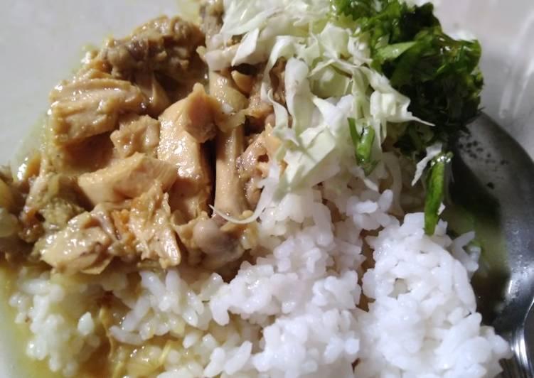 Gulai Ayam Kampung Suwir