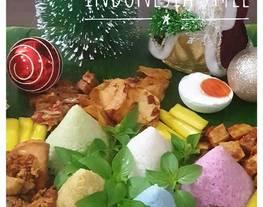 7. Pelangi nasi uduk / nasi uduk / warna warni nasi uduk