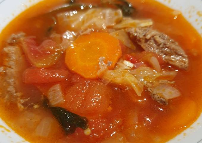 Tomato beef stew - projectfootsteps.org