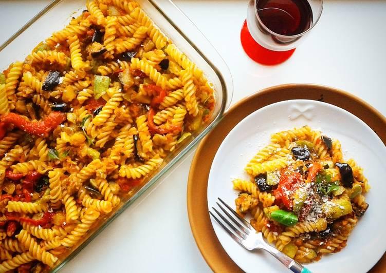 Come cucinare ricette Fusilli integrali all'ortolana (ricetta light) The Delicious