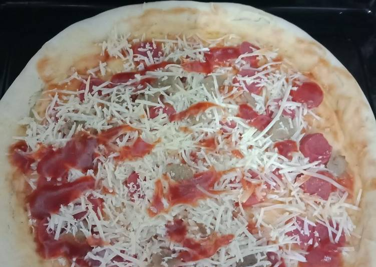 Pizza Homemade Sederhana Oven Listrik