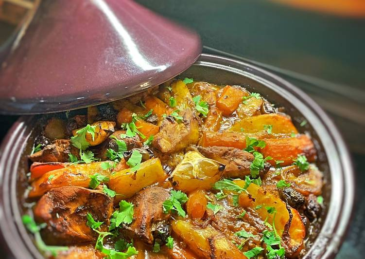 How to Prepare Favorite Chicken Or lamb tagine with lemon