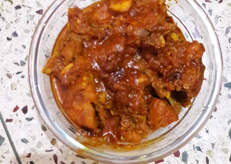 Recipe of Homemade Chicken Curry