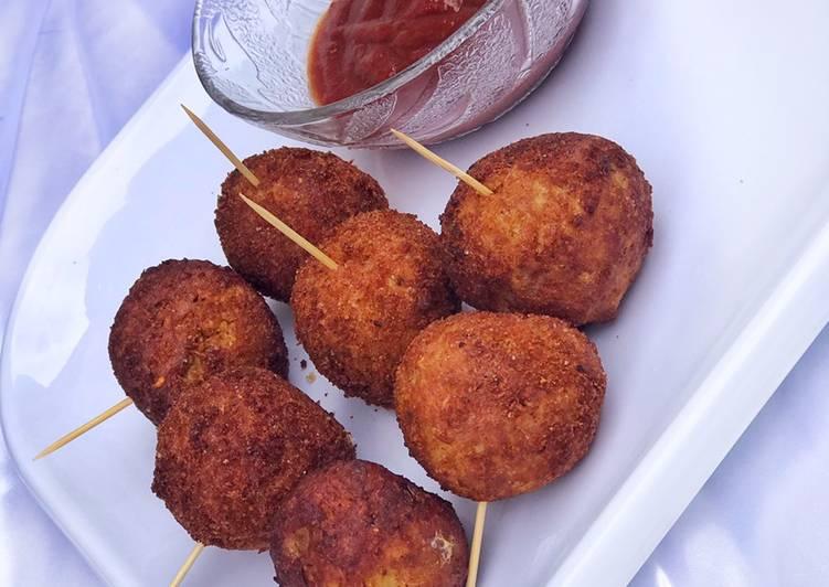 Steps to Make Favorite Potato lollipops