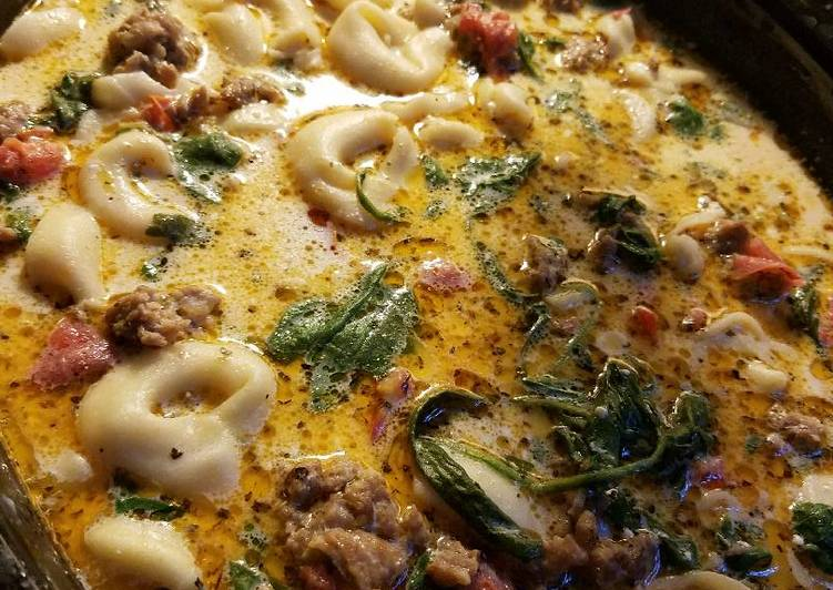 Crockpot Sausage Tortellini Soup, Deciding on Wholesome Fast Food