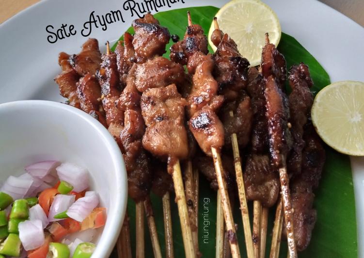 Sate Ayam Rumahan - cookandrecipe.com