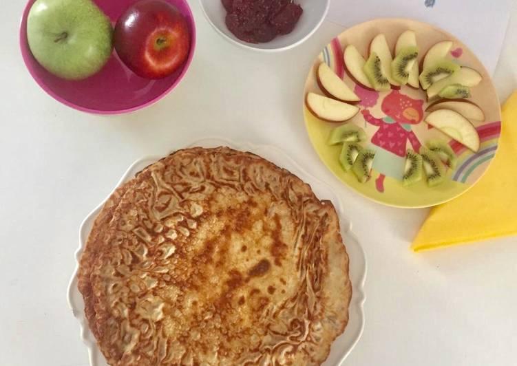 Pfannkuchen - glutenfrei und laktosefrei
