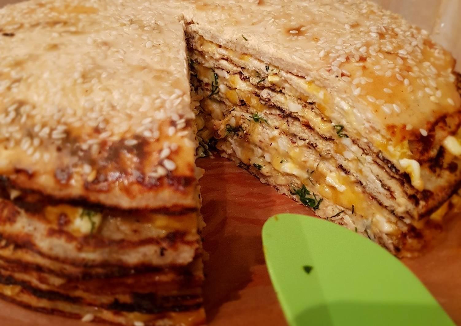 Куриный торт рецепт с фото готовим дома
