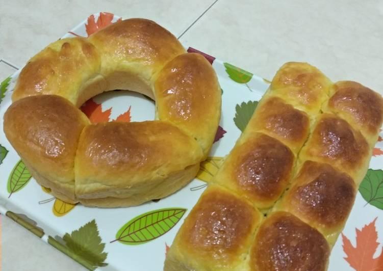 Roti sobek labu kuning lembut