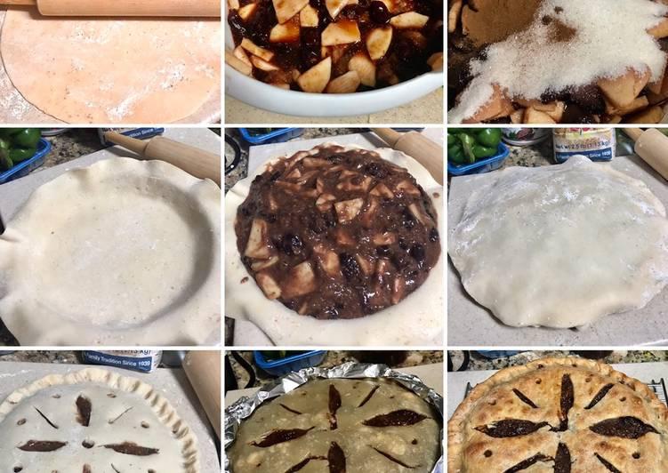 Fig, 🍏, Dark cherry pie