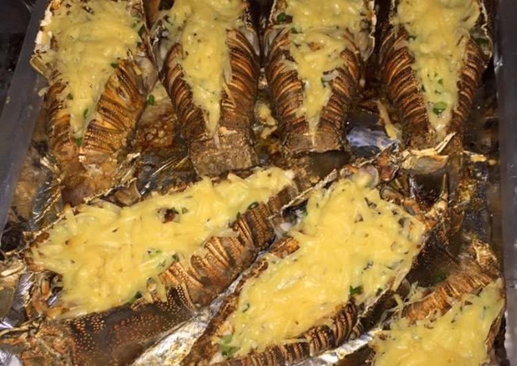Baked Slipper Lobster