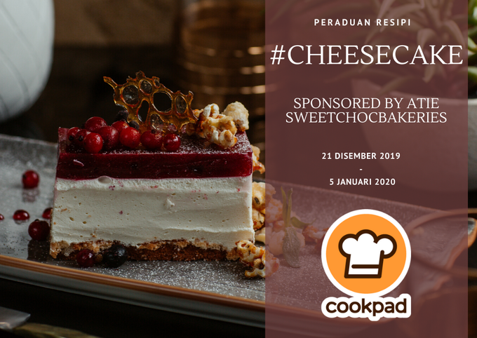 Peraduan Resipi #cheesecake Atie SweetChocbakeries