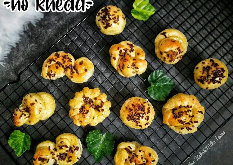 Roti Unyil (no knead)