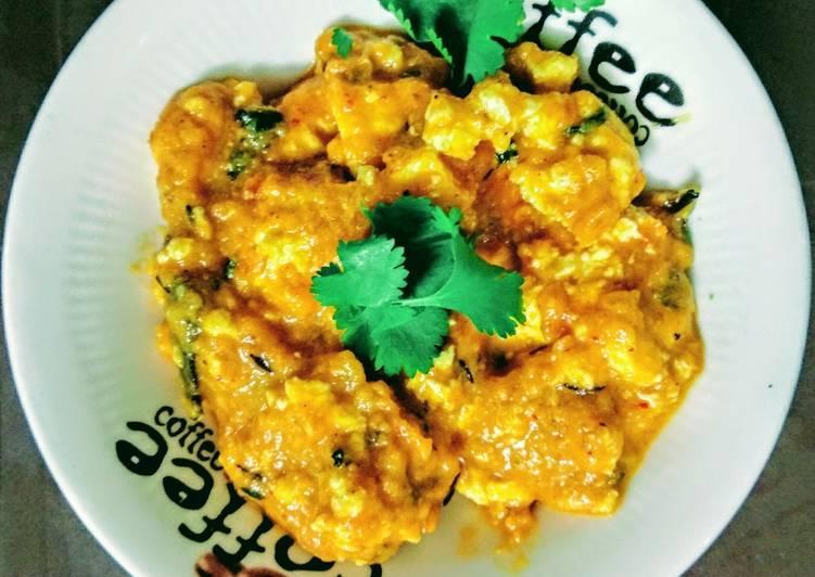 Recipe of Favorite Sahi paneer