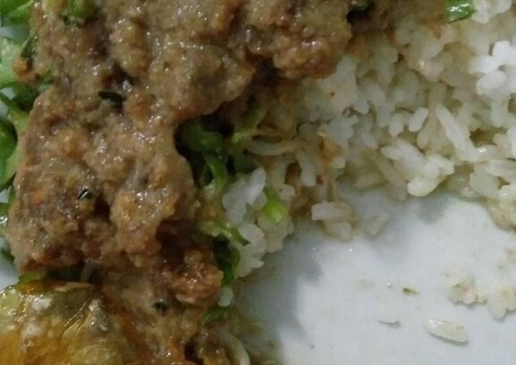 Nasi Pecel Sayur Kecipir