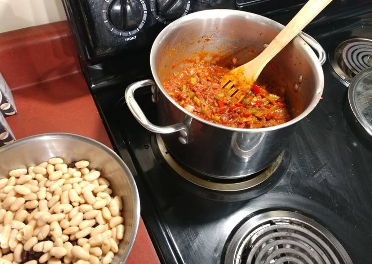 Easiest Way to Prepare Yummy Vegan Chili