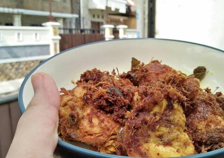 Cara Gampang Memasak Ayam Ungkep Goreng #anakkost, Menggugah Selera