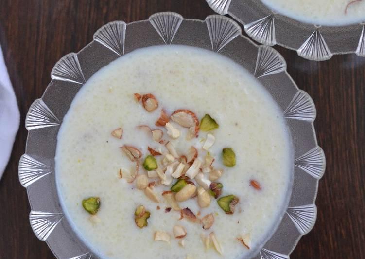 Samak Rice Kheer