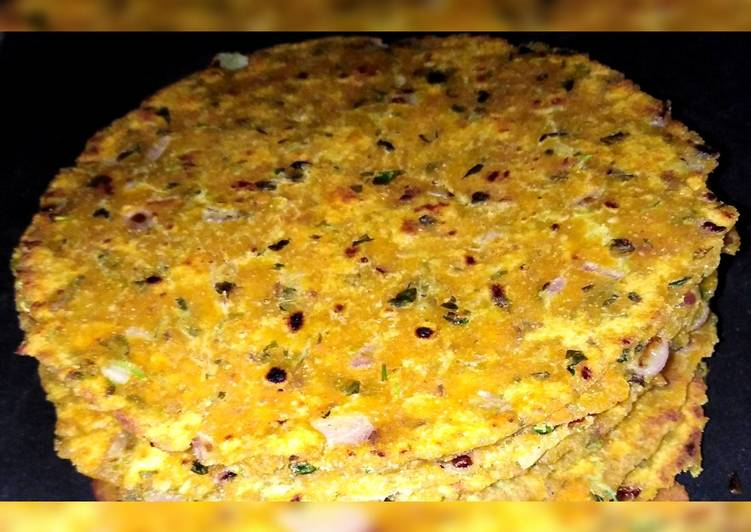 30 Minute Easiest Way to Make Speedy Missi roti (desi food)