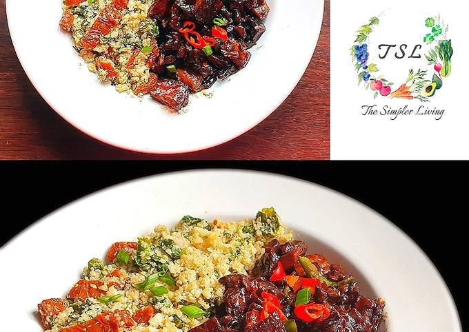 Simple Way to Prepare Award-winning Sizzling Vegan Sisig