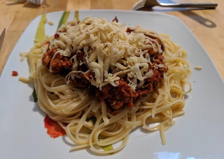 Le moyen le plus simple de Cuire Savoureux Spaghetti bolognaise végane