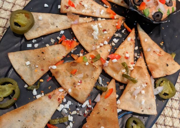 How to Make Speedy Chapati tortilla with BBQ dip