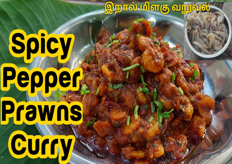 Pepper Prawn Curry | Prawns Masala | Eral Thokku Choosing Fast Food That's Good For You
