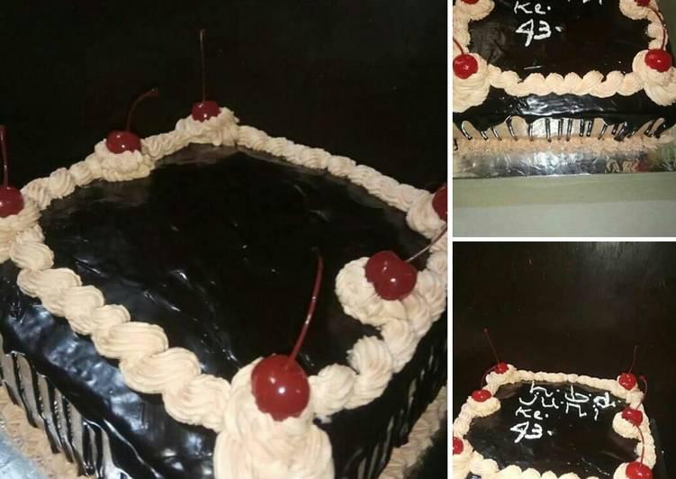 Resep Cokelat siram buat cake ultah /donat Atau brownies Anti Gagal
