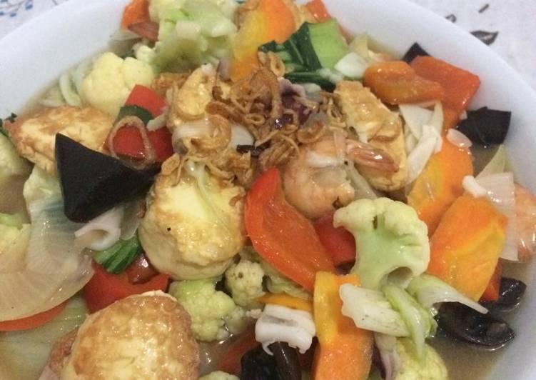 Resep Unggulan Sapo Tahu Seafood Ala Solaria Resep Masakanku