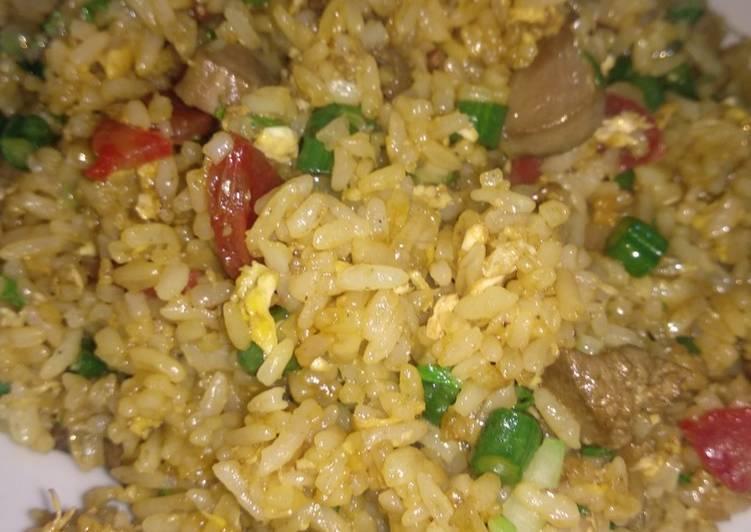 Nasgorsay (Nasi Goreng Sayuran)