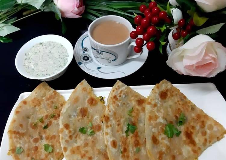 Foods That Can Make You Happy Mooli ka Paratha😋