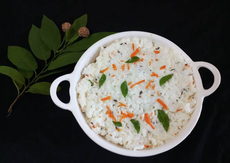 Recipe of Speedy Curd rice