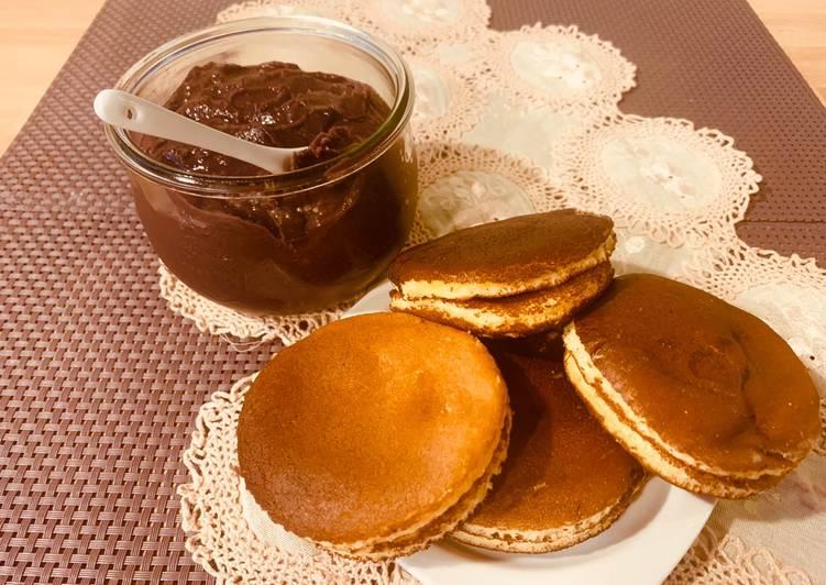 Dorayaki con Anko… Pancake e confettura di fagioli giapponesi