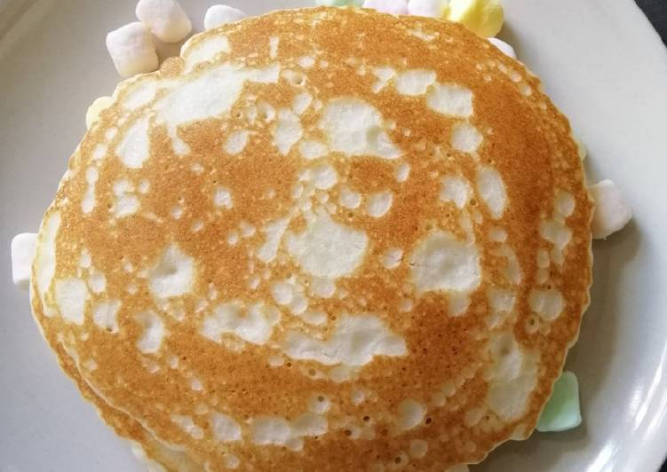 Easiest Way to Prepare Super Quick Homemade Marshmallow Pancake
