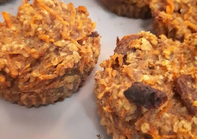 Mini carrot cake (sans sucre et vegan)