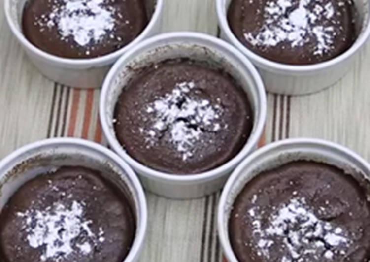 طريقة عمل سوفليه الشوكولاته من شهية بالصور من مطبخ كوكباد كوكباد