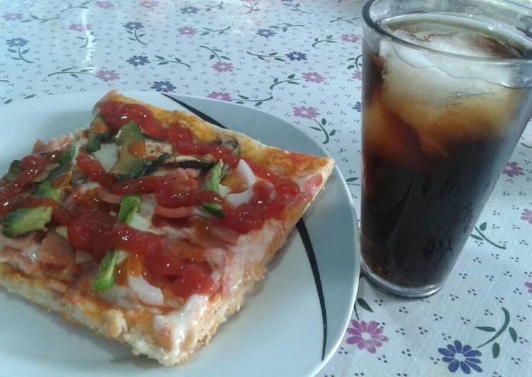 "Pizza ""a la enojona"" 😈🍕"
