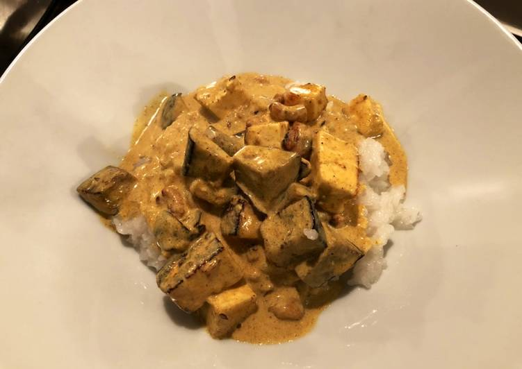 Paneer, Aubergine & Cashew Curry Finding Healthy Fast Food
